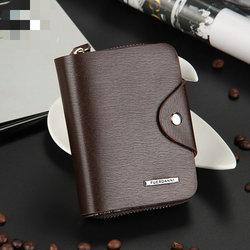 NEUE neue stilvolle Männer wallet + echtes Leder + Taschen Kupplung Cente Bifold Geldbeutel, 100% garantie + großhandel WB44