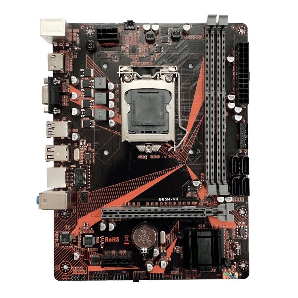 B85M-VH haute vitesse LGA 1150 HDMI Gaming double canal 16G DDR3 carte mère accessoires d'ordinateur de bureau PCI-e SATA3.0 USB 3.0