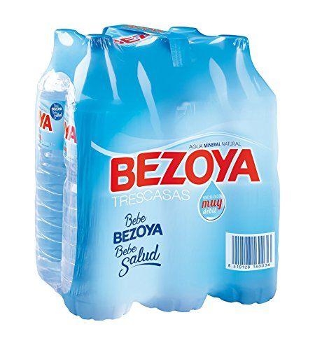 Bezoya - Agua Mineral Natural - Pack 6 X 1.5 L