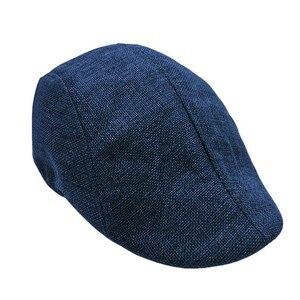Fashion Flat Caps For Men Hat Unisex Beret Cap Women Summer Casual Sun Breathable Hats Black Berets Sunhat 2020 Chapeau Homme