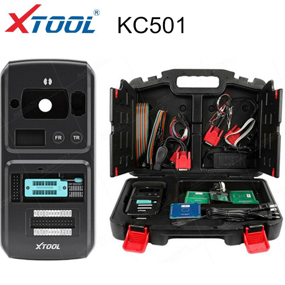 Программатор автомобильных ключей и чипов XTOOL KC501, поддержка чтения и записи чипов MCU/EEPROM, работает с X100 PAD3/A80for Benz, Инфракрасные ключи
