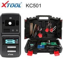 Xtool kc501 chave do carro & suporte programador chip ler e escrever mcu/eeprom chips funciona com x100 pad3/a80for benz chaves infravermelhas