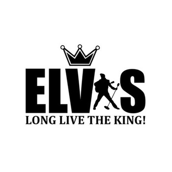 Car Sticker Motorcycle Sticker Elvis Presley Viva PVC Waterproof Sunscreen Decal Black/Silver 15CM*10CM image