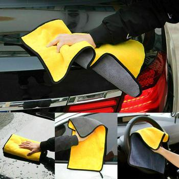 Car Cleaning Towel Soft Water Absorption Car Auto Vehicle Washing Cloth Towel Cleaning Rag Tool 2020 image