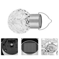 Solar led lights twinkly Crystal Ball Chandelier wedding decoration Porous Hanging гирлянда led strip luces led decoracion