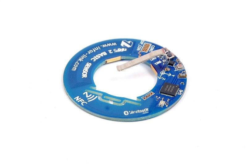 NRF52832 Bluetooth Wireless Sensor Acceleration Sensor Temperature Humidity Atmospheric Pressure Sensor