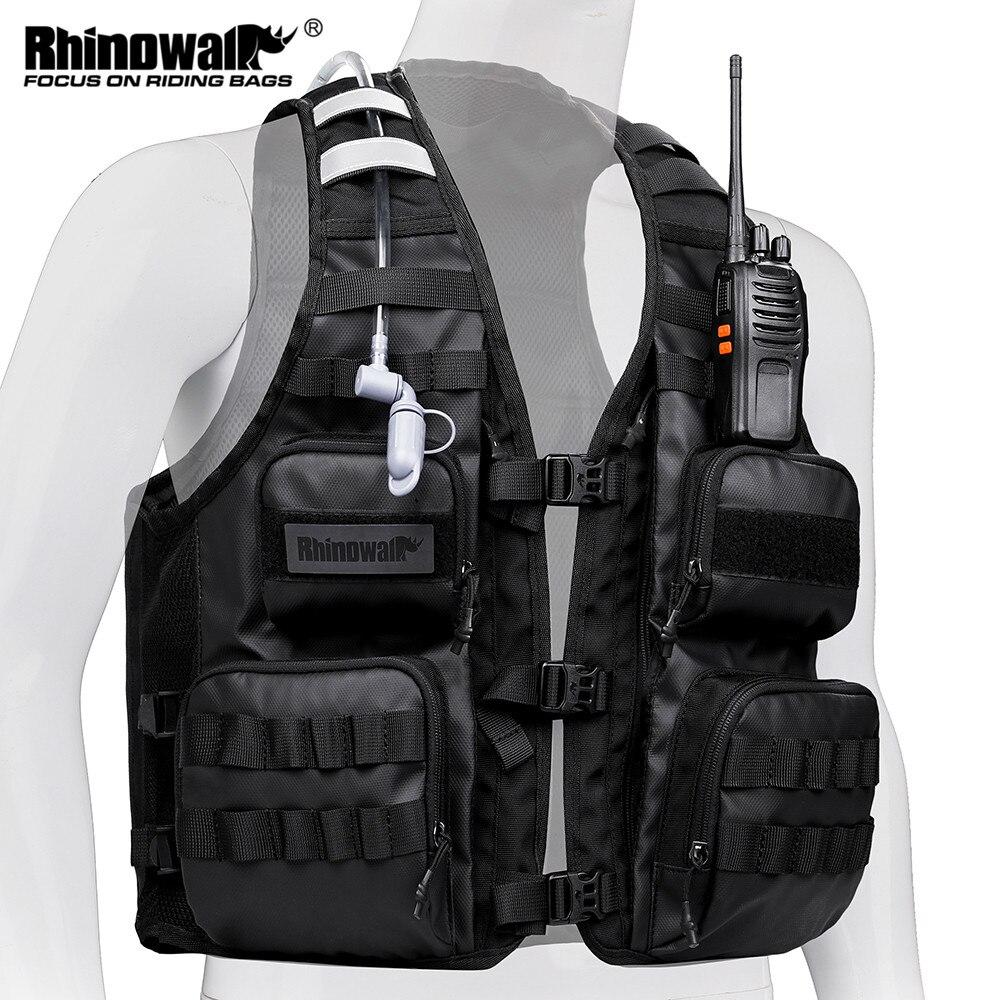 Рюкзак Rhinowalk для рыбалки и жилета, сумка для занятий спортом на открытом воздухе и пешего туризма, переносной жилет для бега и велоспорта, му...