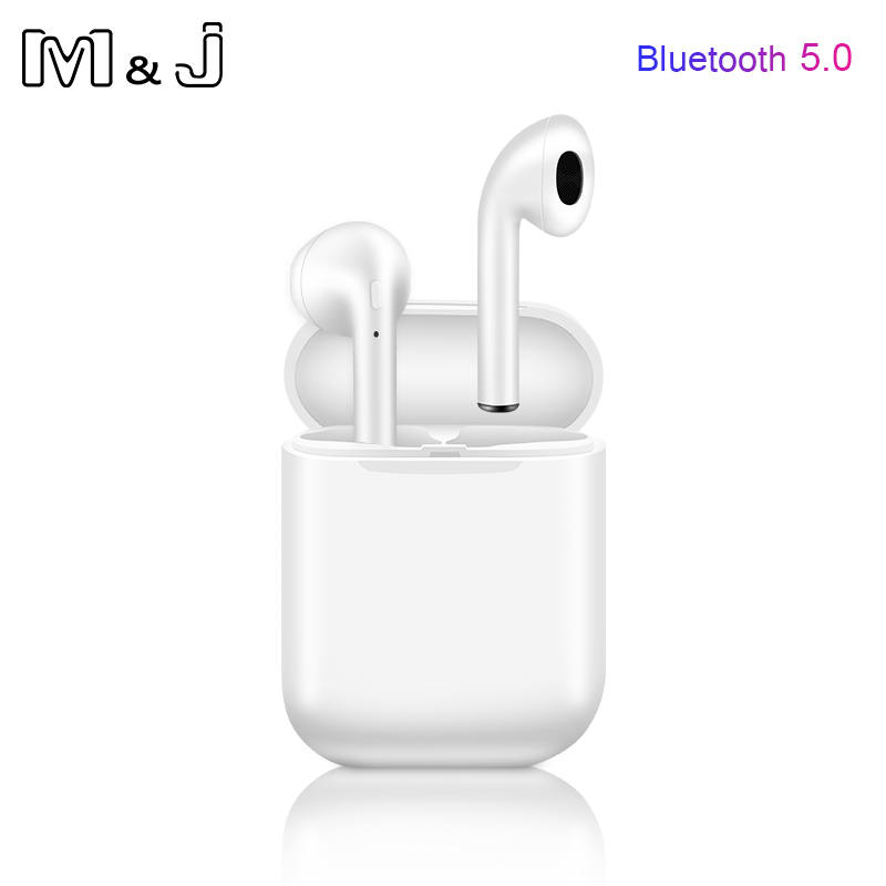 i9s <font><b>Tws</b></font> Headphone Wireless <font><b>Bluetooth</b></font> <font><b>5.0</b></font> Earphone Mini <font><b>Earbuds</b></font> With Mic Charging Box Sport Headset For Smart Phone pk i7s image