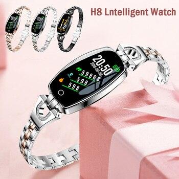 Willkey H8 Smart Watch Women 2020 Waterproof Heart Rate Monitoring Bluetooth Watch For Android IOS Fitness Bracelet Smartwatch 1