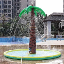 180cm Children Adult Inflatable Pool Inflatable Spray Water Cushion Mat Inflatable Swimming Tub Outdoor Inflatable Swiming Pool