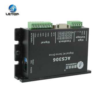 Free Shipping Stepper Motor Driver ACS306 ACS606 ACS806  1 Axis Stepping Motor  Digital DC Servo Driver For Indoor Outdoor Print