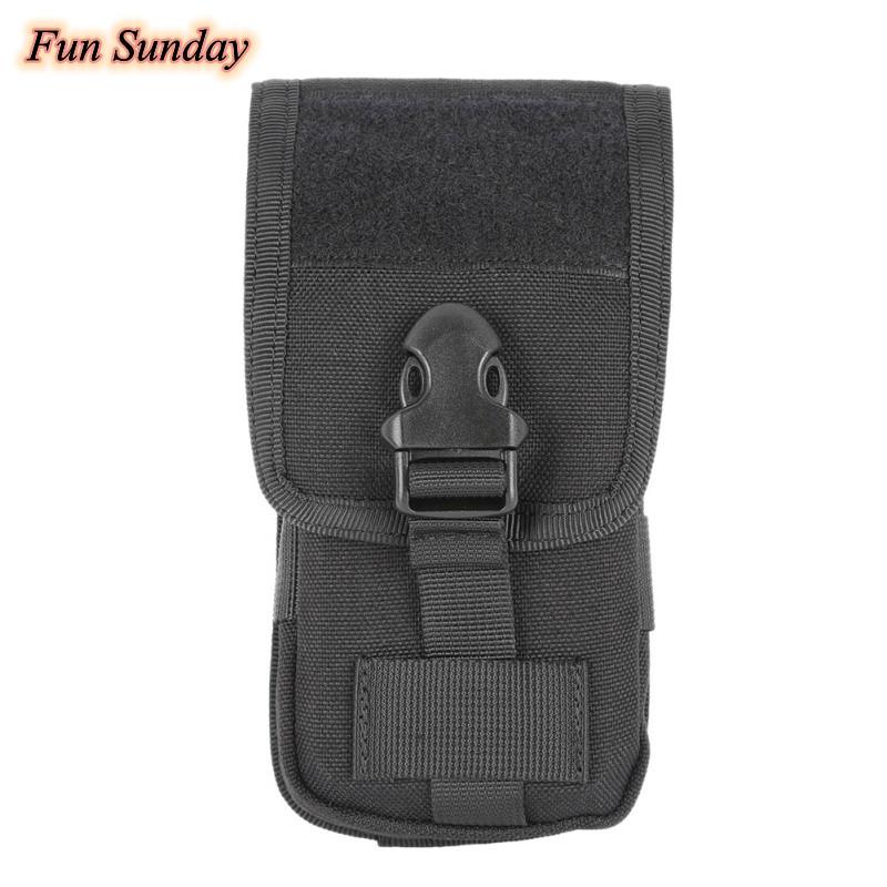 Tactical Military Camo Belt Pouch Bag Pack Phone Bags Molle Pouch Belt Camp Pocket Waist Fanny Bag