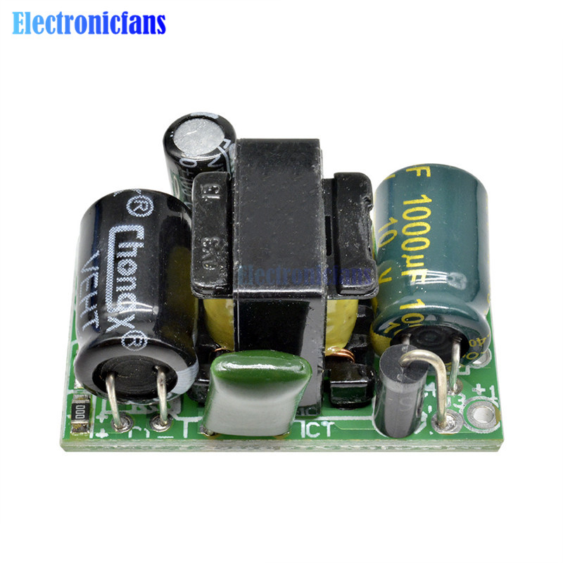 AC-DC 5V 800mA Buck Converter Board 110V 220V zu DC 5V Step Down Transformator Netzteil modul Für Arduino Spannung Isolation
