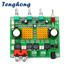 Tenghong TPA3116D2 HIFI דיגיטלי Class D מגבר כוח לוח 100W * 2 2.0 ערוץ כפול גבוהה כוח טון סיים לוח DC12 24V