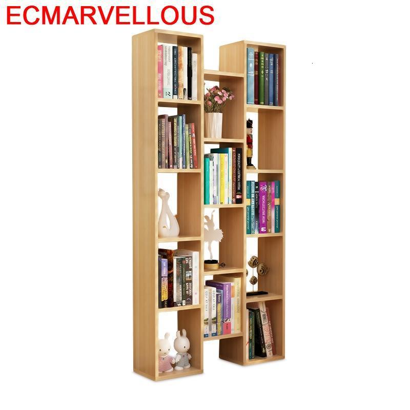 Para Libro Mobilya Bureau Meuble Mueble De Cocina Wall Shelf Cabinet Vintage Wood Furniture Book Retro Decoration Bookshelf Case