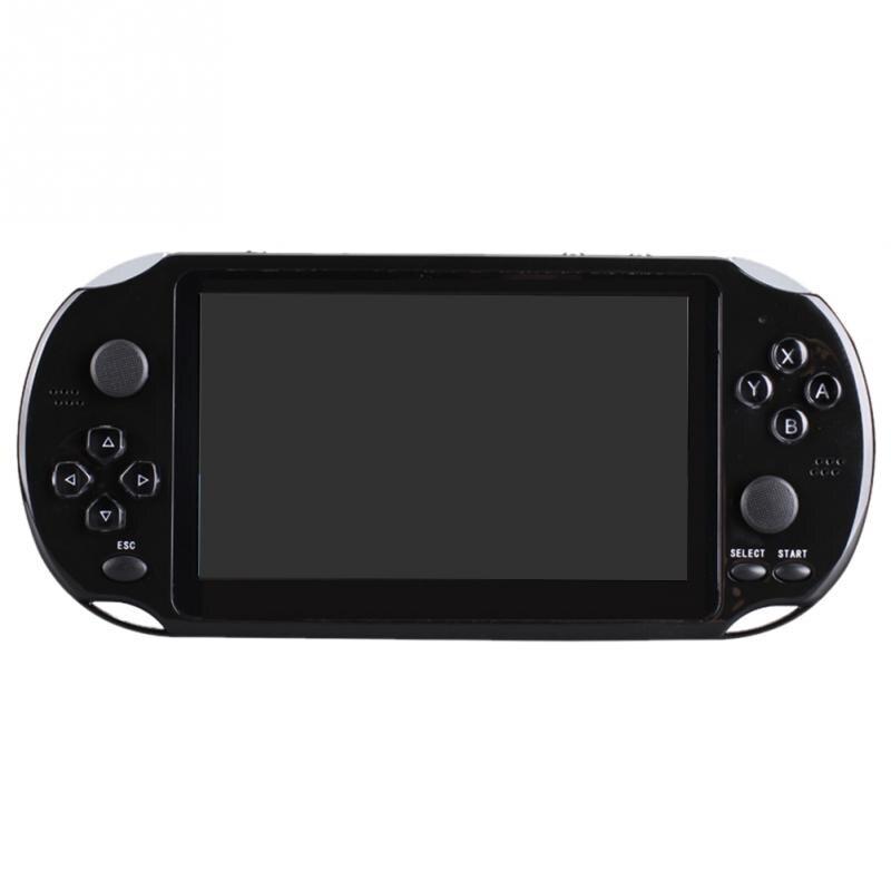 """4,"""" Игровая консоль 8G простая в эксплуатации Многофункциональный портативный плеер ретро портативный подарок развлечения карманный размер HD перезаряжаемый - Цвет: X12"""