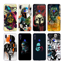 Luxury Star Wars Silicone Fundas Case For Xiaomi