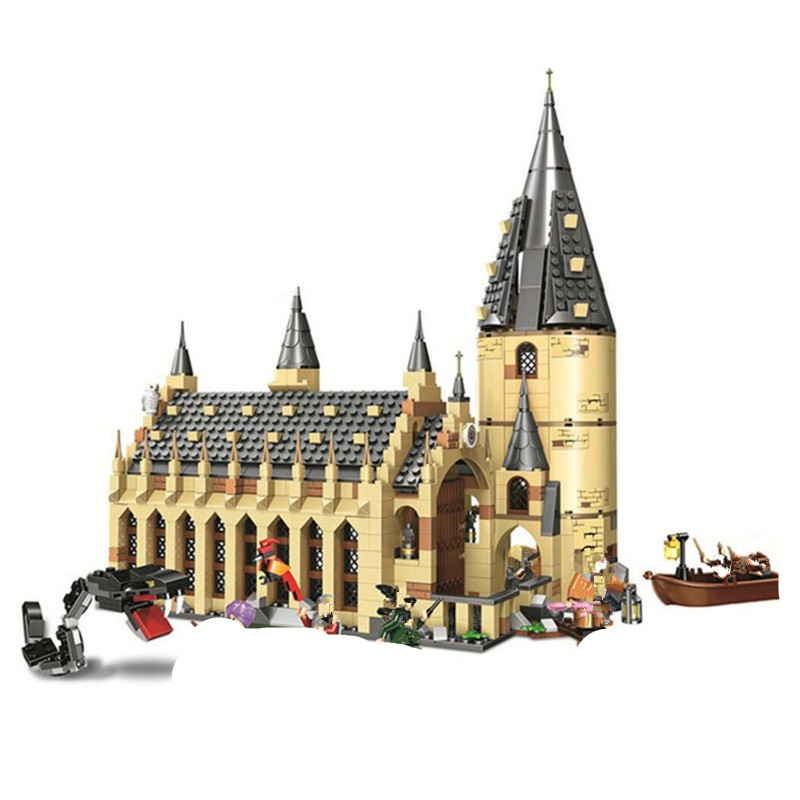 the harry Great Wall House 75954 Building Blocks Model Toys 11007 16052 Compatible potter Magic World