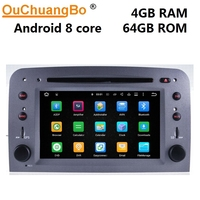 Ouchuangbo PX5 Android 9.0 audio player radio gps navigation recorder for Alfa Romeo 147 GT with video 8 core 4GB 64GB