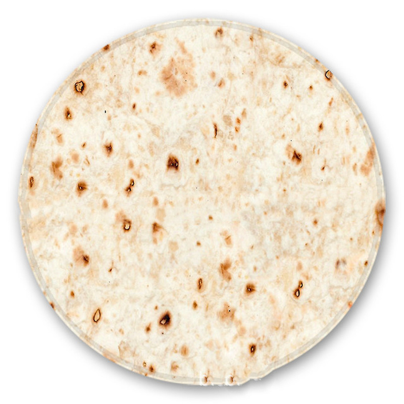180 cm Round Tortilla Food Burrito Blanket Perfectly Home Decoration 1