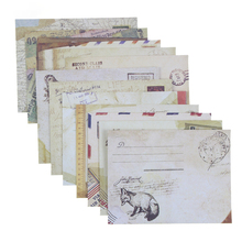 Mini Envelopes Stationery Card Vintage Scrapbooking Cute for New 12pcs Designs European-Style