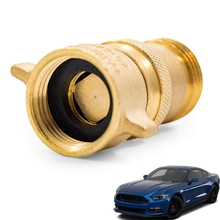 Premium Brass Water Pressure Reducing Valves Practical Protect Plumbing Hose Tool from High-Pressure City Water D2TB