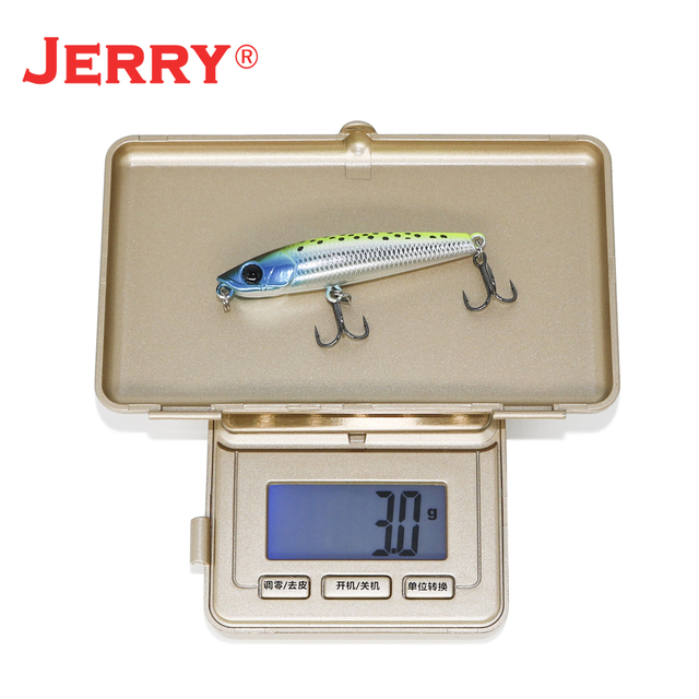Jerry Blade topwater surface pencil floating ultralight stickbait sea beach fishing lures hard bait UV color