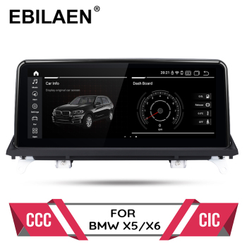 Android 10.0 car dvd player for BMW X5 E70/X6 E71 (2007-2013) CCC/CIC system autoradio gps navigation multimedia head unit PC image