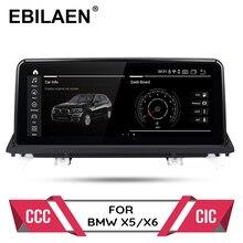 Lecteur dvd de voiture Android 10.0 pour BMW X5 E70/X6 E71 (2007 2013) CCC/CIC système autoradio gps navigation multimédia unité principale PC