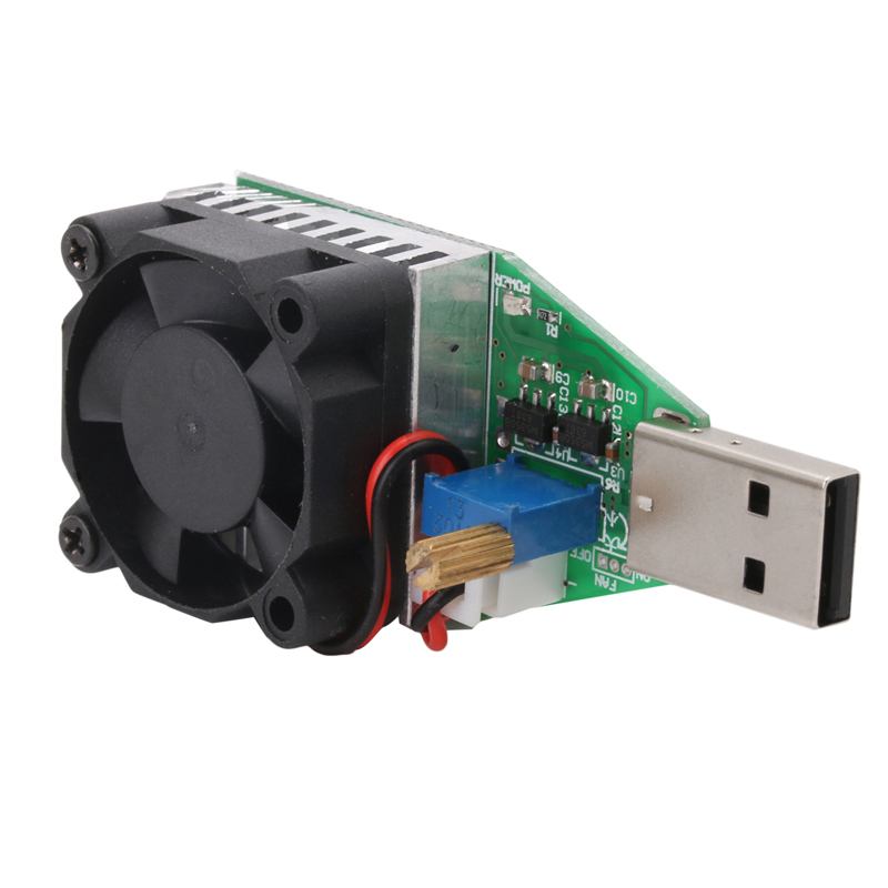 Fashion Style Dc 3.7~13v Usb 15w Adjustable Constant Current Electronic Load Discharger Dropshipping