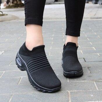 Spring Women Sneakers  Flat Slip