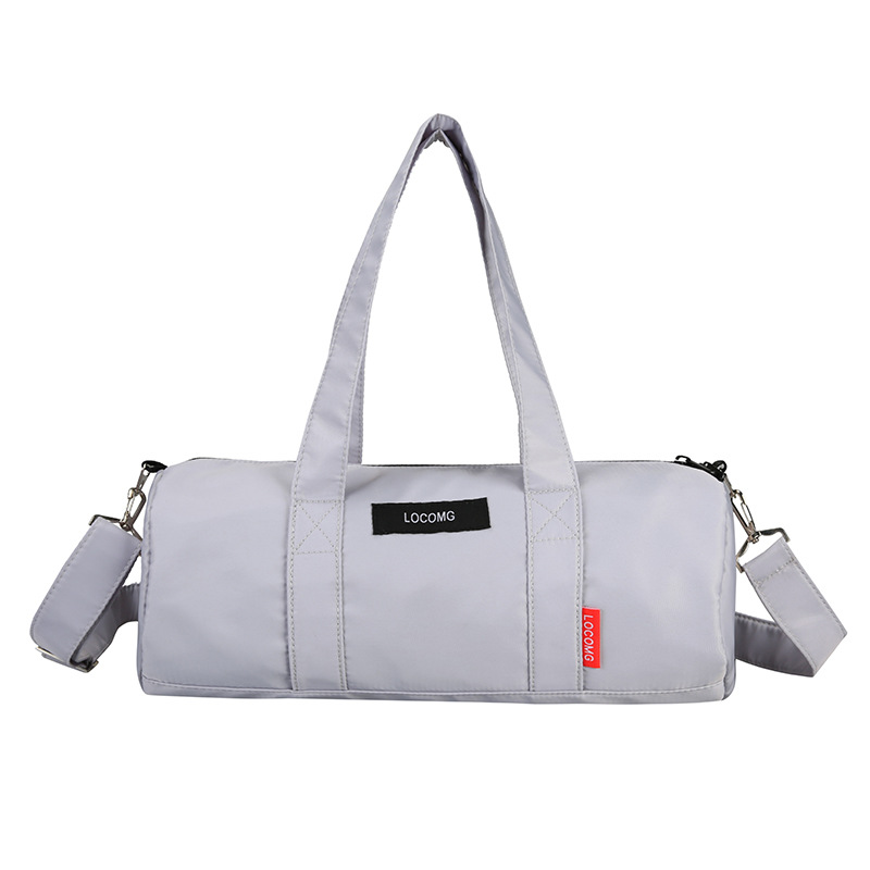 Купить с кэшбэком New Oxford Cloth Travel Bag Male Sports Fitness Bag Female Korean Leisure Yoga Bag Luggage Bag Customization