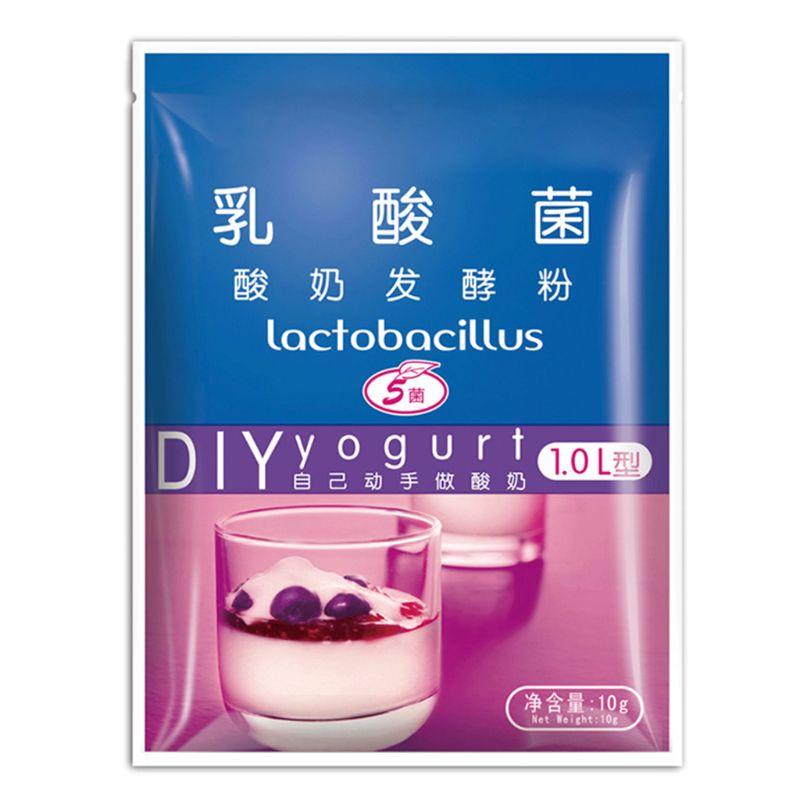 Yogurt Yeast Starter Natural Probiotics Home Made Lactobacillus Fermentation Powder Maker Homemade Kitchen Supplies