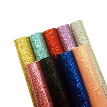 22*30cm Glitter Synthetic Leather Colorful Fabric Sheets Handmade Bags Shoe Materials DIY Hair bow Accessories