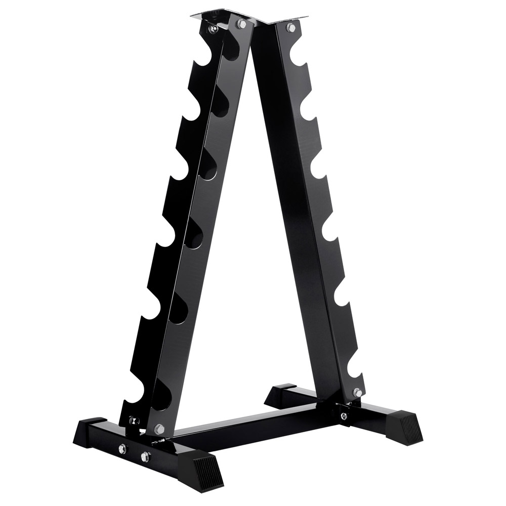 Everfit Vertical Dumbbell Storage Rack 6 Pairs Durable And Stable Fitness Equipment Suitable For Home And Office A2