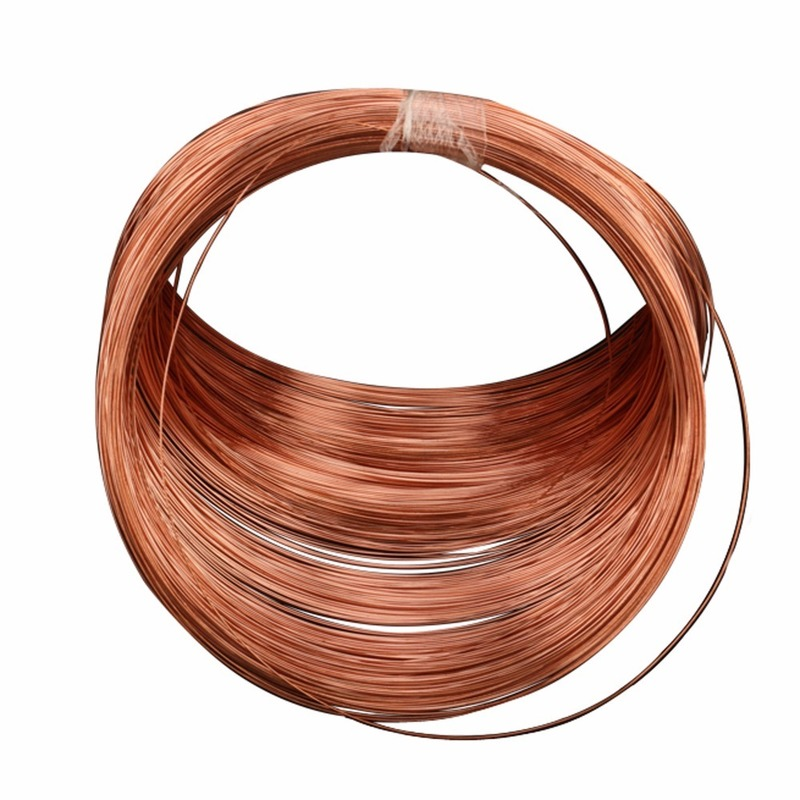 Beryllium Copper Wire C17200 Copper Alloy 0.12mm To 2.0mm Conductive Copper Wire Semi-hard Thin Soft Copper Wire Diameter 0.08-5