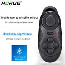 HORUG 032 Wireless Bluetooth VR Joystick Gamepad Remote Controller VR Game Pad For PC TV Smartphone Gamepad Control For VR BOX(China)