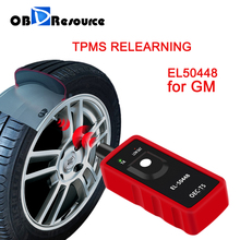 EL50448 TPMS reimpara per GM Opel Buick Chevrolet elettronico pressione pneumatici Monitor sensore Reset EL 50448
