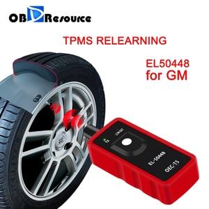 Image 1 - El50448 tpms re learn para gm opel buick chevrolet sensor de monitor de pressão dos pneus eletrônico reset EL 50448