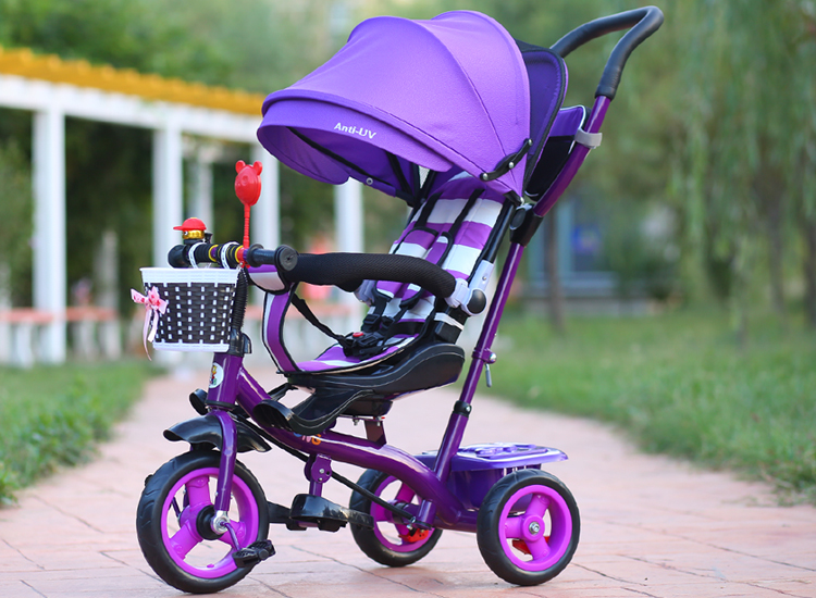 New Brand Child Tricycle High Quality Swivel Seat Child Tricycle Bicycle 1-6 Years Baby Buggy Stroller BMX Baby Car Bike