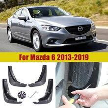 Mudguard Accessories for Mazda 6 Atenza GL GJ Car Mudflap Fender Mud Flaps Guard Splash Flap 2013 2014 2015 2016 2017 2018 2019