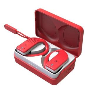 Image 2 - TWS Bluetooth kulaklık kablosuz çelik serisi kulaklık handsfree mikrofon gürültü iptal ile