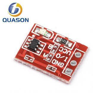 10 шт. TTP223 сенсорный ключ переключатель модуль сенсорная кнопка емкостные переключатели самоблокирующиеся/без блокировки емкостные сенсорные переключатели Интегральные схемы      АлиЭкспресс