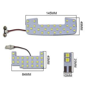 Auto Weiß LED Innen Lesen Lampe Bulb Dome Karte Licht für Suzuki Jimny JB64 JB74W 2018-19