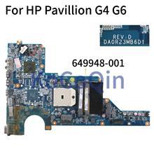 KoCoQin материнская плата для ноутбука HP Pavillion G4 G4-1000 G6-1000 G7 AMD Материнская плата 649948-001 649948-501 DA0R23MB6D0 DA0R23MB6D1