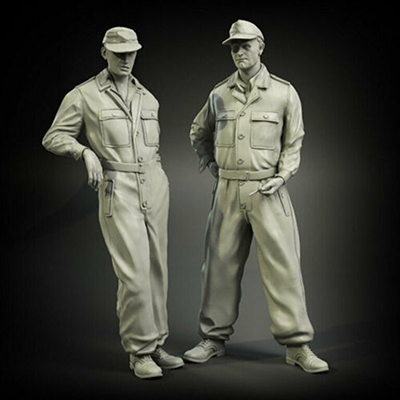 1/35  Ancient Officers Stand And Talk   Include 2 Resin Figure Model Kits Miniature Gk Unassembly Unpainted