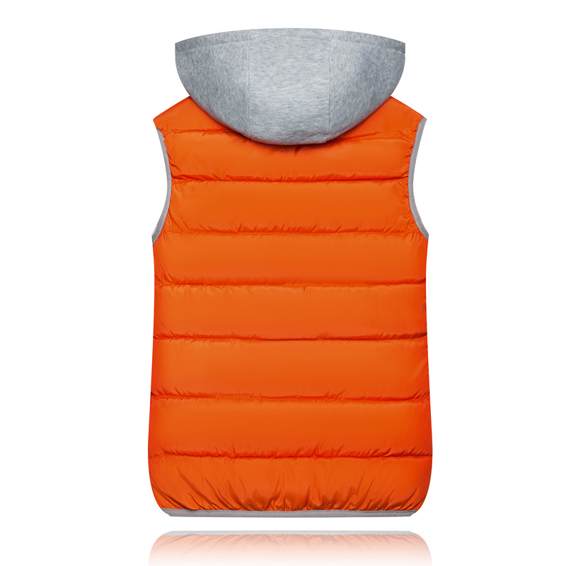 H8245152682d848c998a4614296706ba8e 2019 Winter Coat Women Hooded Warm Vest Plus Size Candy Color Cotton Jacket Female Women Wadded Feminina chalecos