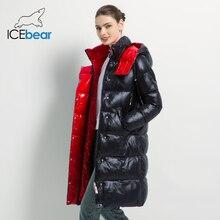Женская хлопковая куртка с капюшоном, зимняя куртка высокого качества, брендовая одежда, 2019