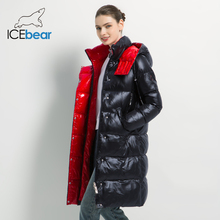 2019 New Winter Women Jacket Fashion Woman Cotton High Quality Female Parkas Hooded Women #8217 s Coats Brand Clothing cheap ICEbear Casual zipper GWD19501 GWD19502 Full Polyester Sustans Thick (Winter) Broadcloth Slim Solid REGULAR Pockets Zippers