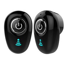 Mini Wireless Invisible Bluetooth Earbuds Auto Stereo Headsets Noise Reduction S650 Bluetooth Earpiece With Free Gift